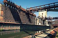 Germany, North Rhine-Westphalia, Essen, Zollverein Coal Mine Industrial Complex, Coking plant - MS004298