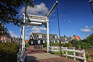 Netherlands, Marken, drawbridge - DSGF000793