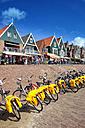 Netherlands, Volendam, Ijsselmeer, lakeside promenade - DSG000778
