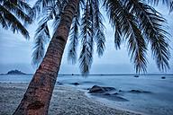 Malaysia, Tioman Island, sunset at Salang - DSGF000800