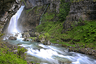 Spain, Ordesa National Park, waterfall of Arazas River - DSGF000395