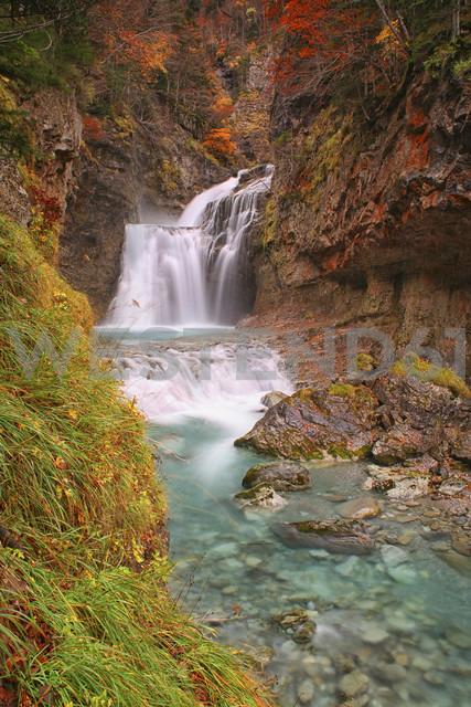 Spain, Ordesa National Park, waterfall of Arazas River - DSGF000484