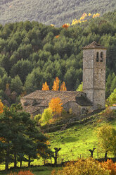 Spain, Province of Huesca, church in mountain village Fanlo - DSGF000480