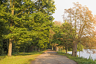Germany, Saxony, Moritzburg, Park near Moritzburg-Castle - MJ001357