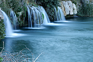 Spain, Albacete, Lagunas de Ruidera, Waterfalls of Guadiana river - DSGF000631