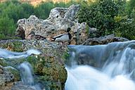 Spain, Albacete, Lagunas de Ruidera, Waterfalls of Guadiana river - DSGF000634