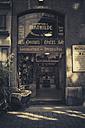 France, Department Rhone, Lyon, Vintage delicatessen shop - SBD001321