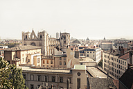 France, Department Rhone, Lyon, View to Lyon Cathedral - SBDF001279