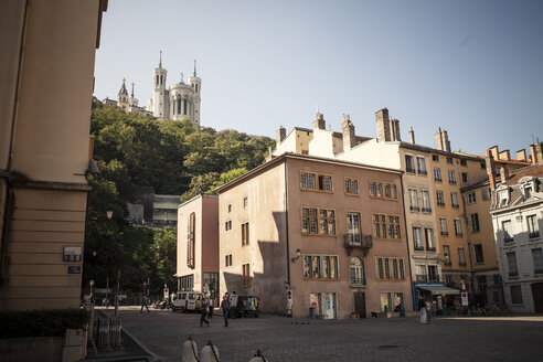 France, Department Rhone, Lyon, Historic town centre, Basilica of Notre-Dame de Fourviere - SBDF001287