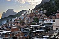 Brazil, Rio de Janeiro, view of Favela Rocinha - FLK000515