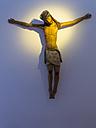 Italy, Sicily, Province of Palermo, Monreale, Cathedral Santa Maria Nuova, Jesus figurine - AM002930