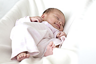 Sleeping baby girl - DRF001109