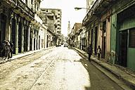 Cuba, street scene - NNF000036