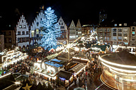 Germany, Hesse, Frankfurt, Christmas market at night - AMF002950
