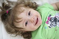 Portrait of smiling baby girl - SHKF000015