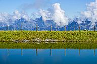 Austria, Allgaeu Alps, Schneeteich, artificial lake - WGF000489