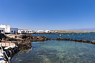 Spain, Canary Islands, Lanzarote, Punta Mujeres, Fishing village Arrieta - AM002957