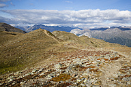 Italy, South Tyrol, Watles Area, View to Ortler Alps - MYF000605