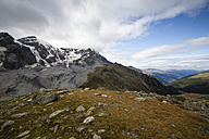 Italy, South Tyrol, View to Ortler Alps, Monte Zebru left - MYF000619