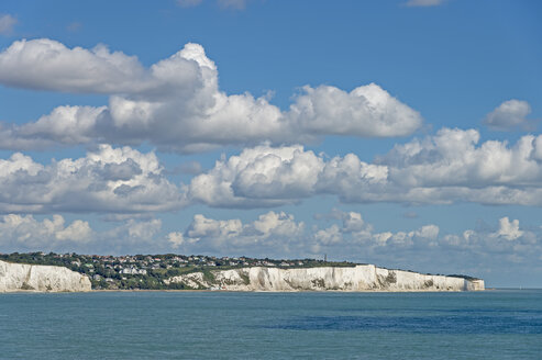 United Kingdom, England, Kent, Dover, English Channel, Chalk Coast, White Cliffs - FRF000004