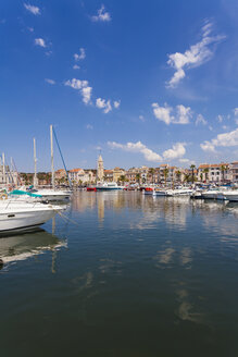 France, Provence-Alpes-Cote d'Azur, Department Var, Sanary-sur-Mer, Harbour - WDF002652