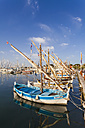 France, Provence-Alpes-Cote d'Azur, Department Var, Bandol, Harbour and old fishing boats - WD002676