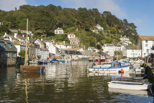 United Kingdom, England, Cornwall, Polperro, Harbour - FRF000024