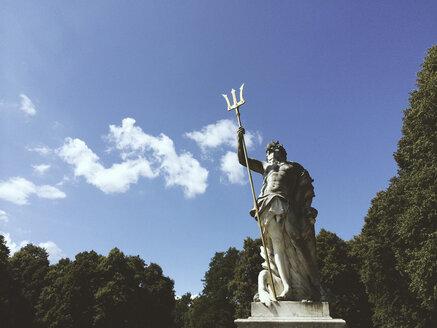 Statue in the park of Schloss Nymphenburg, Munich, Germany - FLF000550
