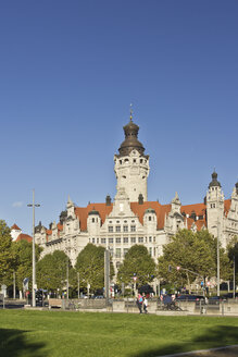 Germany, Saxony, Leipzig, New City Hall - MELF000038