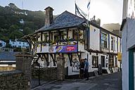 UK, Cornwall, Polperro, historical tavern - FR000031