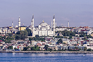 Turkey, Istanbul, View to Sultan Ahmed Mosque - THAF000798