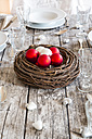 Laid table with Christmas decoration - LVF002142