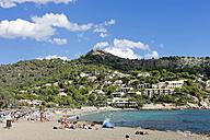 Spain, Balearic Islands, Mallorca, Canyamel, Beach - HLF000745