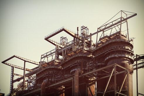 Germany, Dortmund, former steel mill Phoenix West, blast furnace - HOH001083