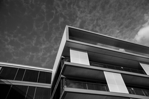Germany, Dortmund, modern architecture at former industrial site Phoenix West - HOH001085