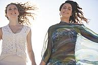 Friends having fun outdoors - ZEF002475