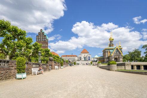 Germany, Hesse, Darmstadt, Mathildenhohe - PU000134