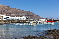 Spain, Canary Islands, Lanzarote, fishing village Orzola - AMF003091