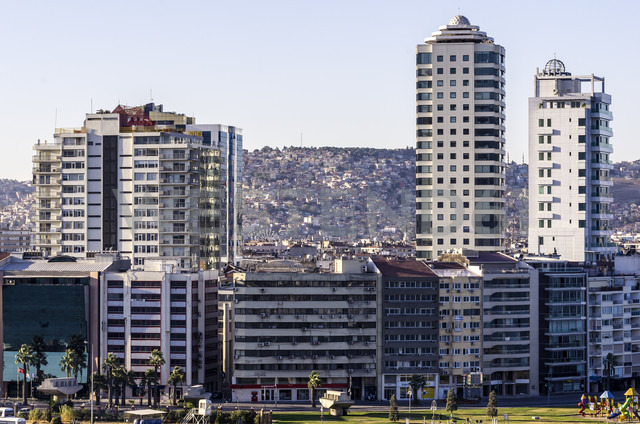 Turkey, Izmir, Aegean Region, High-rise residential buildings - THAF000820