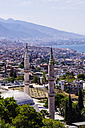 Turkey, Izmir, Aegean Region, Cityscape, Mosque in the foreground - THAF000824