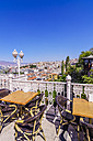 Turkey, Izmir, Aegean Region, View from Asansoer, Restaurant - THA000851