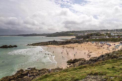 United Kingdom, England, Cornwall, St Ives, Porthgwidden Beach - FRF000069