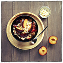 Porridge with plums and almond - EVGF000952