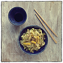 Wok dish with cabbage and rice - EVGF000955