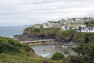United Kingdom, England, Cornwall, Port Isaac, Fishing village and harbour - FRF000076