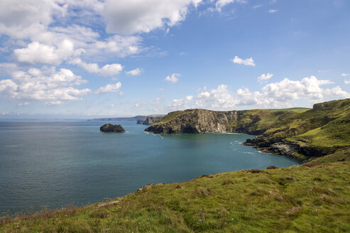United Kingdom, England, Cornwall, Tintagel, North Coast - FRF000085