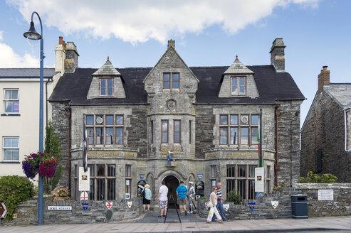 United Kingdom, England, Cornwall, Tintagel, King Arthur's Hall - FR000090