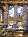 Italy, Sicily, Catafalmi, Temple complex of the Elymians of Segesta - AMF003142