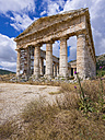 Italy, Sicily, Catafalmi, Temple complex of the Elymians of Segesta - AMF003143