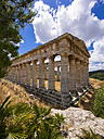 Italy, Sicily, Catafalmi, Temple complex of the Elymians of Segesta - AMF003145